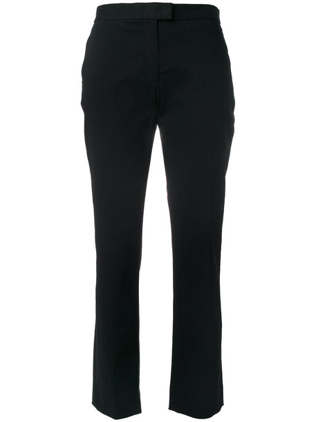 PS By Paul Smith cropped women spandex cotton black pants