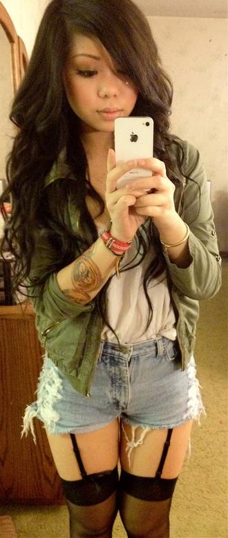 jacket green jacket tumblr tumblr outfit hot cute cute jacket