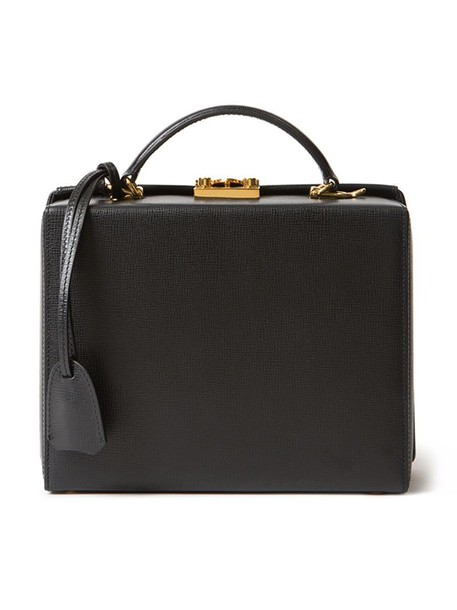 Mark Cross women leather black bag