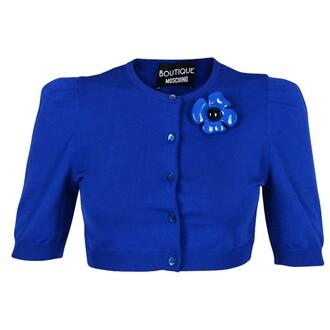 cardigan blue sweater