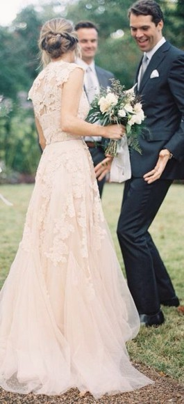 dress clothes: wedding wedding dress lace wedding dresses vintage wedding dress lace wedding dress lace top wedding dress
