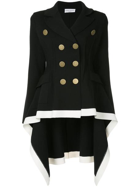 Sonia Rykiel blazer double breasted high women black wool jacket
