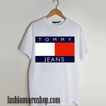 tommy jeans t shirt von tommy hilfiger t shirt. Black Bedroom Furniture Sets. Home Design Ideas