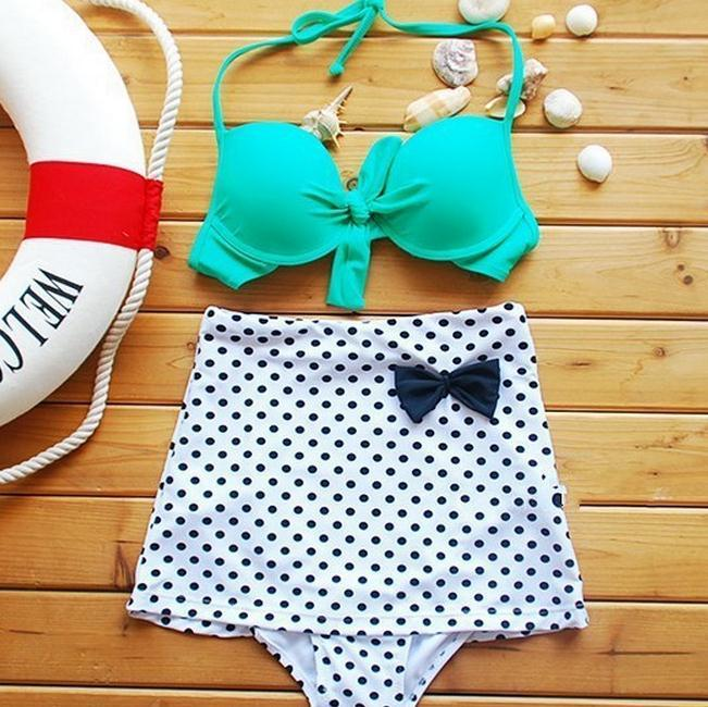 Retro vinatge cute bikini / dopediva