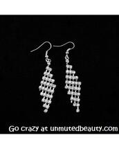 jewels,earrings,rhombus,pretty,prom,style,shiny,dangle earrings,fashion