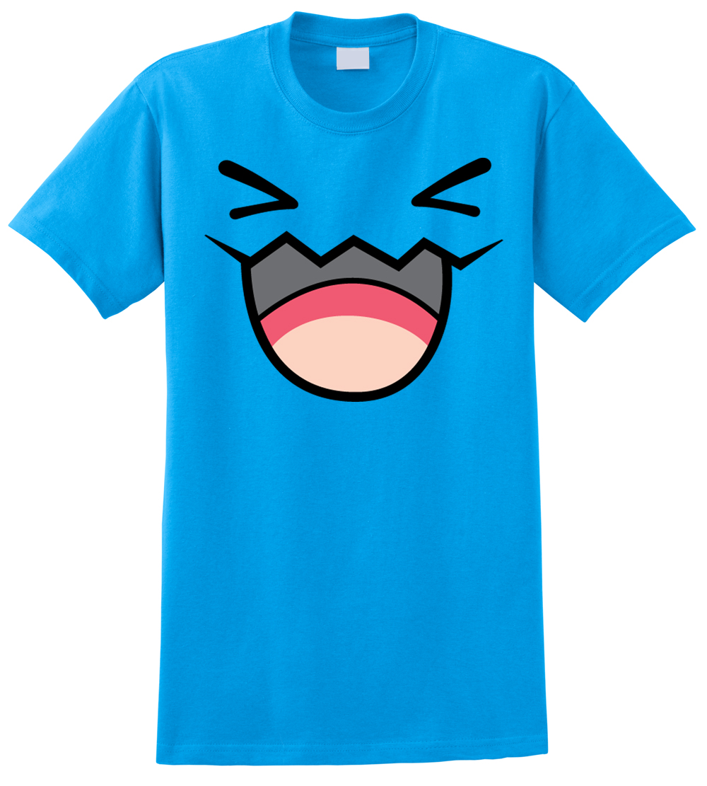 Pokemon WOBBUFFET T-Shirt Anime Pikachu Front and Back  | eBay