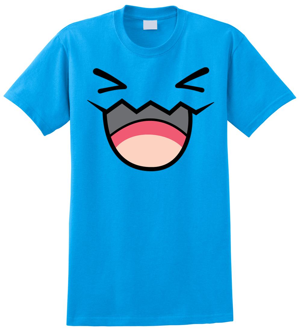 Pokemon WOBBUFFET T Shirt Anime Pikachu Front And Back EBay