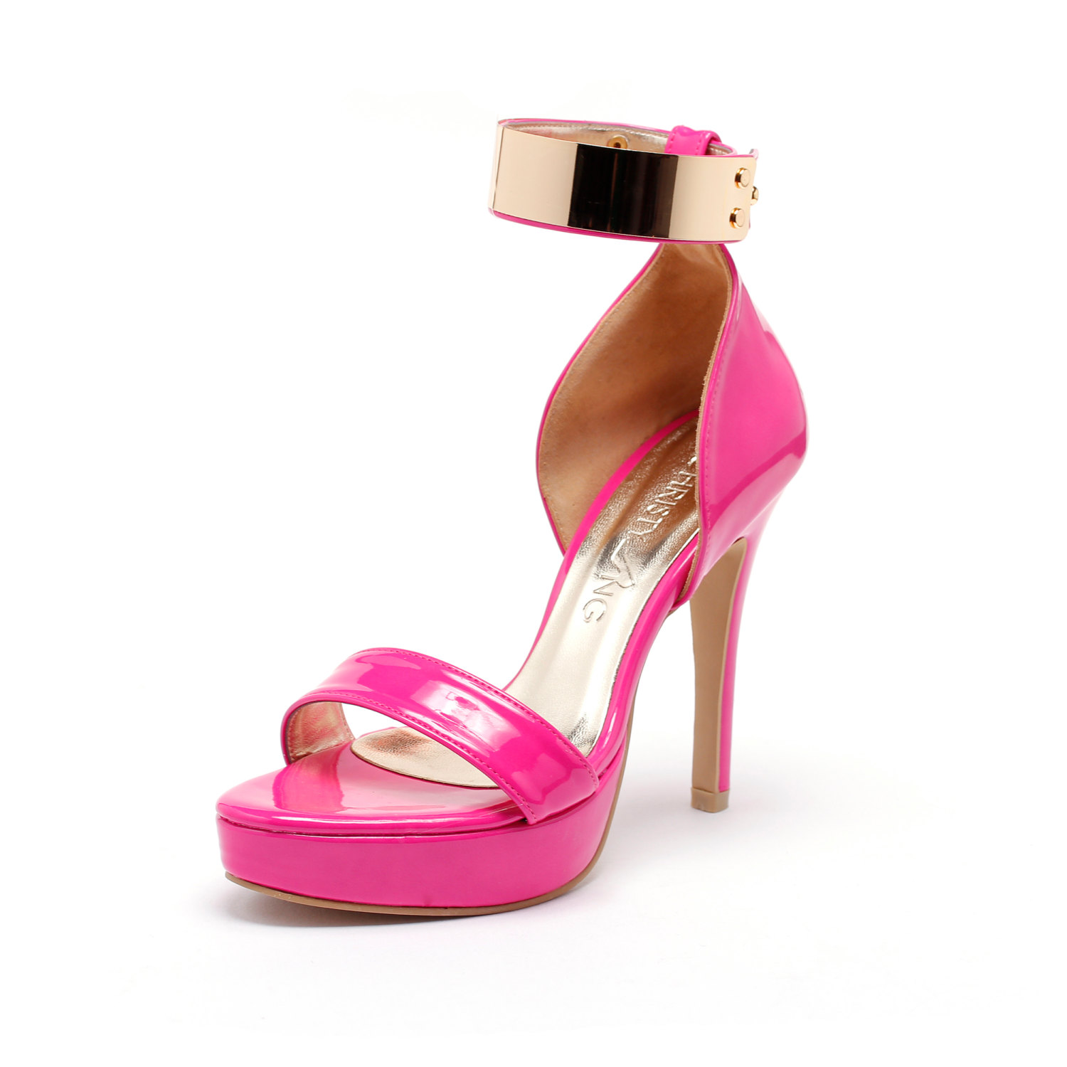 Fuschia Pink High Heel Shoes