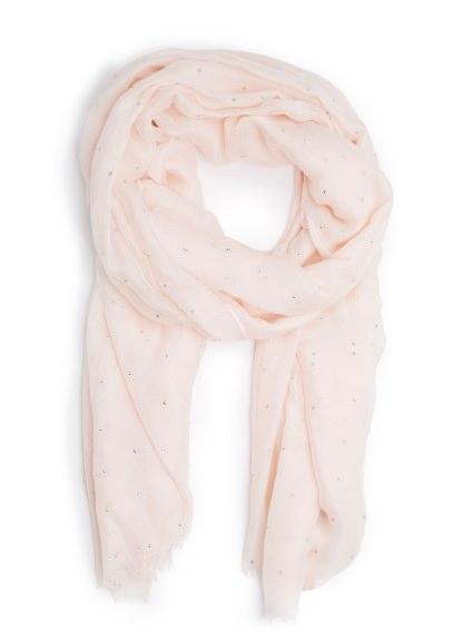 metal bead scarf