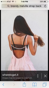 top,bra,underwear,striped dress,style,brandy melville,fashion,black dress,black bikini,black heels,black jeans