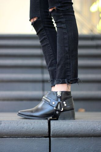 frankie hearts fashion blogger zara ankle boots