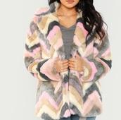 coat,girly,girl,girly wishlist,fur,fur coat,colorful