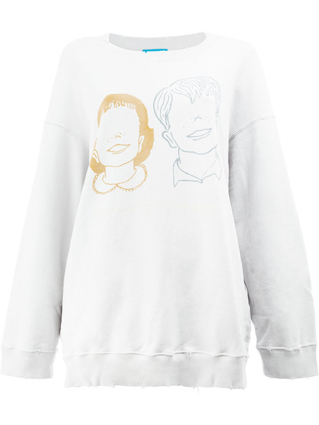 UNDERCOVER sweatshirt women cotton grey sweater