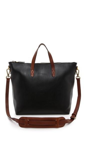 Madewell Zipper Transport Bag - True Black