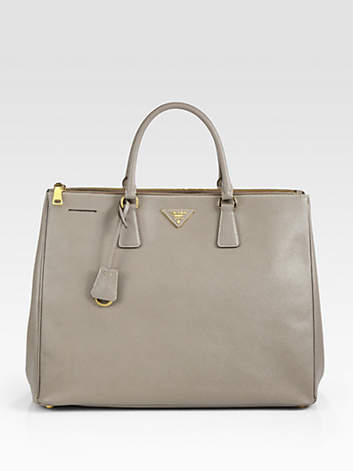 Prada - Large Saffiano Top-Handle Bag - Saks.com