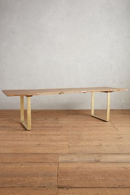 Smoked Oak Dining Table