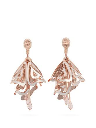 earrings light pink light pink jewels