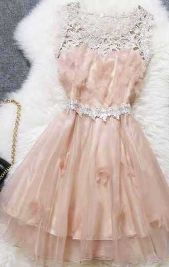 lace dress pink dress a line dress fit and flare dress emboridery lace dress sweatheart mesh dress