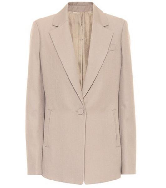Joseph Wool-blend blazer in grey