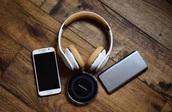 earphones,headphones,white,music