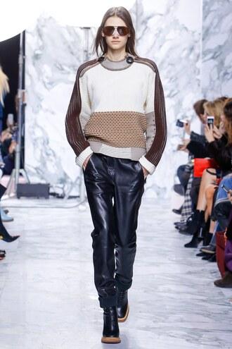 sweater pants fashion week 2016 paris fashion week 2016 carven