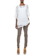 top,morocco crochet easy tunic,undefined,xcvi