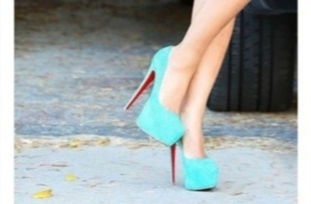 Shoes teal high heels red bottoms heels baby blue louboutin shoes teal high heels red bottoms heels baby blue louboutin tiffany blue prom louboutin turqoise cute junglespirit Images