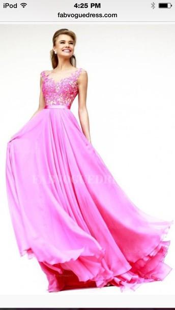 dress pink prom dress sherri hill
