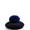 Fur-pompom wool and cashmere-blend beret