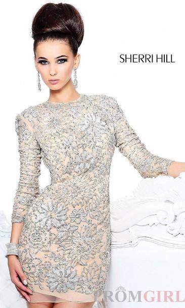 3466456a743 sherri hill homecoming dress homecoming hoco dress long sleeve dress