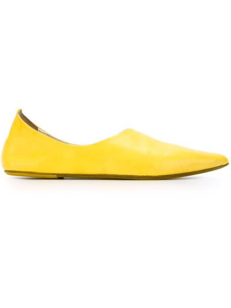 yellow orange shoes