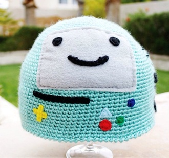 hat beemo adventure time beanie