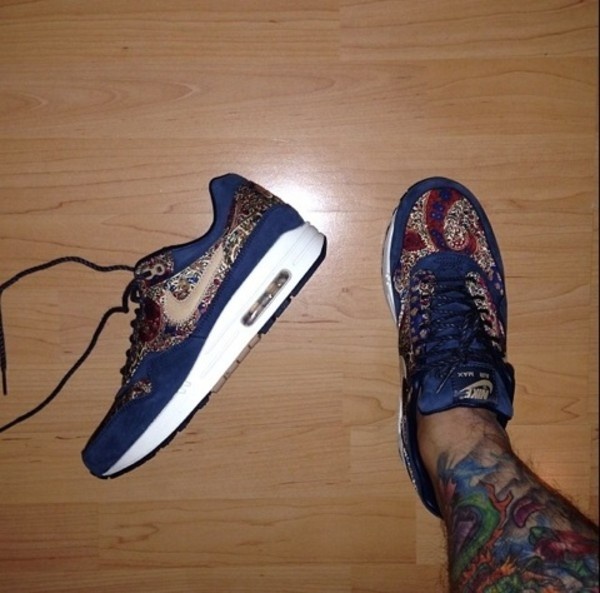 shoes navy blue nike nike air max 1 nike air force air max designs tribal designs gold burgundy