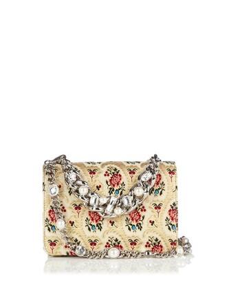 cross embellished bag