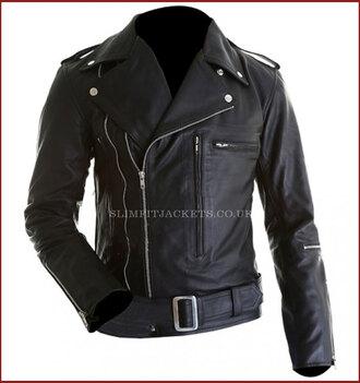 jacket arnold schwarzenegger terminator 2 motorcycle jacket