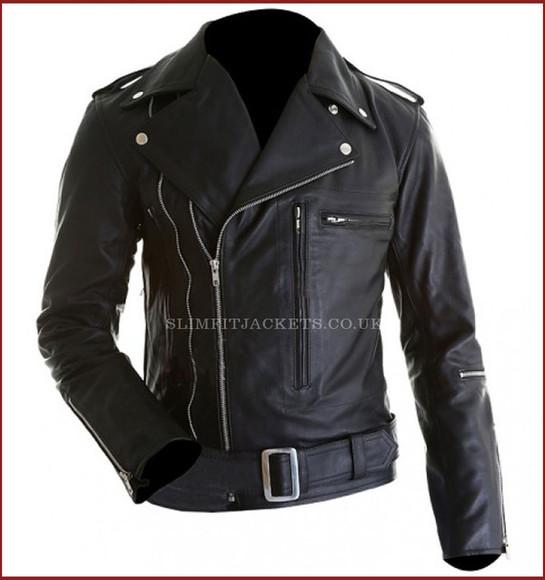 jacket motorcycle jacket arnold schwarzenegger terminator 2