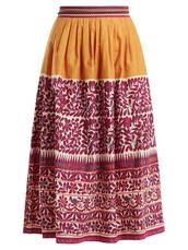 skirt,orange