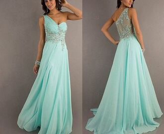 dress prom beaded prom dress one shoulder chiffon