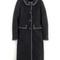 Kate coat (black & charcoal)