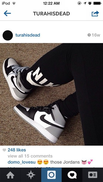 Tumblr outfits with leggings and jordans