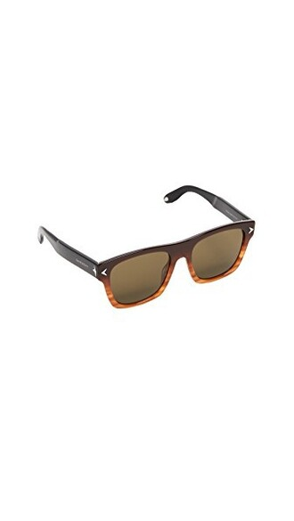 sunglasses black brown