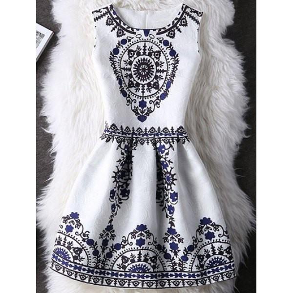 dress fashion style summer black and white cute classy elegant rosewholesale.com