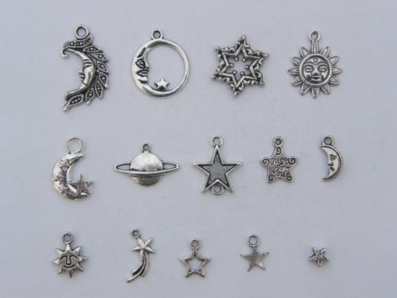 jewels moon star stars planet