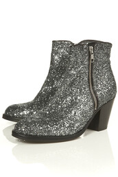 giuseppe zanotti,boots,glitter,silver,shoes,mid heel boots