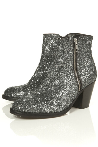giuseppe zanotti boots glitter silver shoes mid heel boots