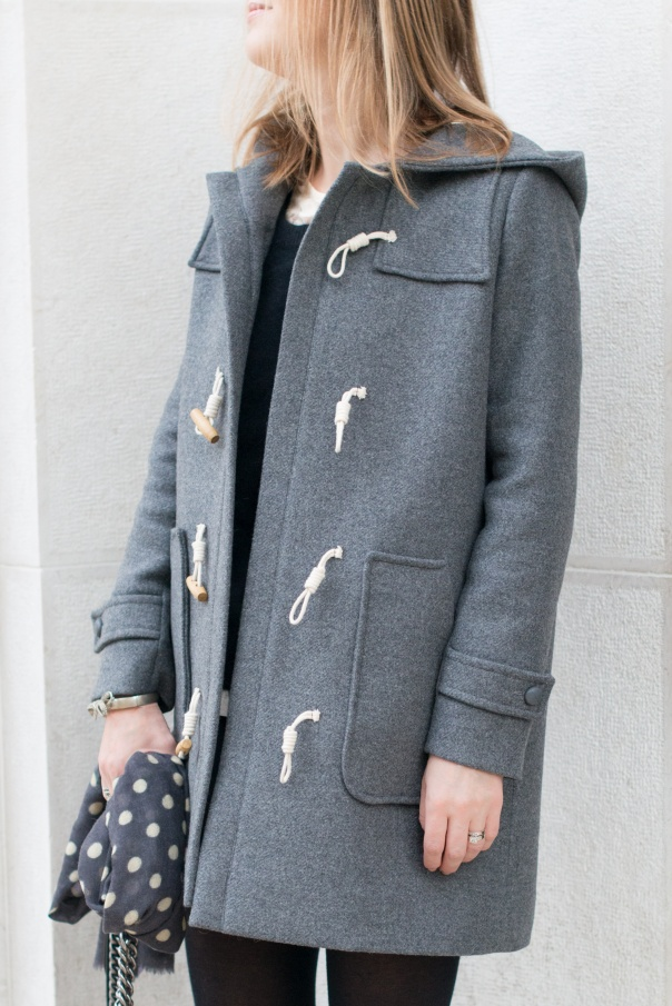 Duffle Coat Girl | Down Coat