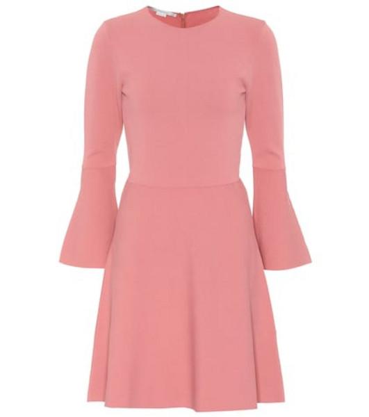 Stella McCartney Crêpe minidress in pink