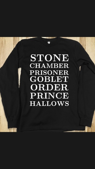 sweater harry potter sweatshirt harry potter