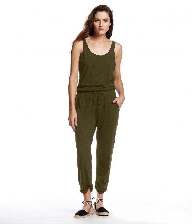 Tank Jumpsuit with Drawstring Waist | Michael Stars
