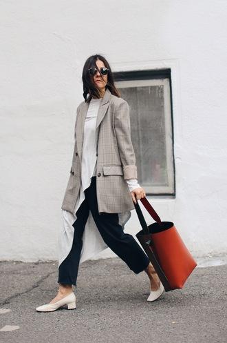 elif filyos blogger jacket top jeans shoes bag